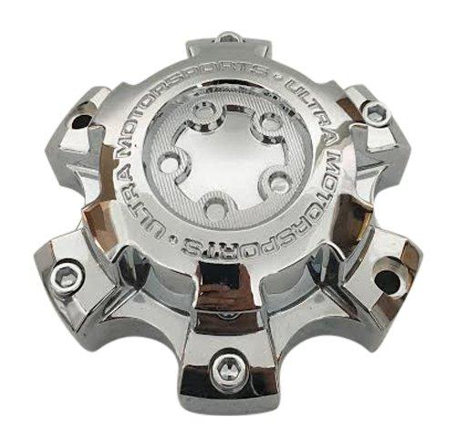 Ultra Wheels 51241680F-5 89-9864 Chrome Wheel Center Cap