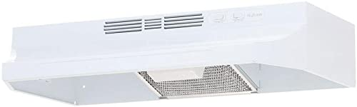 NuTone 30 In. Non-ducted Range Hood - White