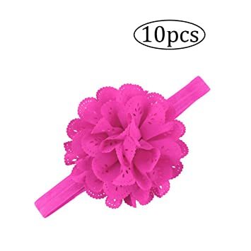 lujiaoshout para bebés niños flores de color rosa bebé ...