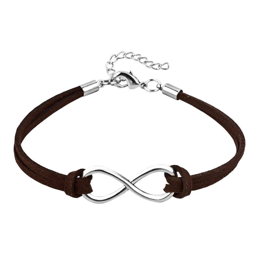 Heart of Charms Multi-Color Rope Bracelets Infinity Love Bracelets Infinity Symbol Charms Cuff Bracelet HOC_BR_HSJ564_7