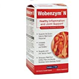 Garden of Life Wobenzym N Enteric Coated Tabs, 200-Count Bottle