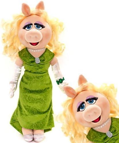 """DISNEY Muppet Babies Miss Piggy 14/"""" Peluche Petit Jouet Doux en Peluche ** Nouveau **"""