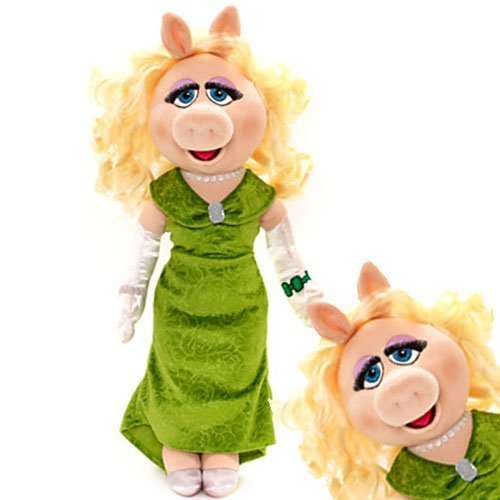 Disney Muppets Most Wanted 52Cm Miss Piggy Soft Plush Toy