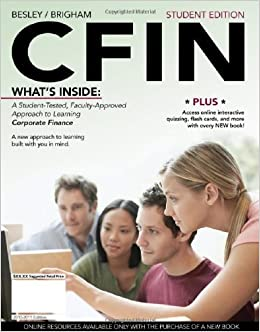 Book CFIN 2010 (with Review Cards and Finance CourseMate with eBook Printed Access Card) (Available Titles CourseMate) by Scott Besley (2010-04-26)