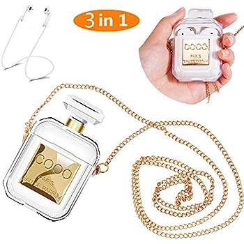 Amazon.com: Lastma AirPods Case Perfume Bottle Case
