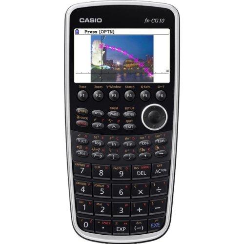 Casio FX CG10 1H SC PRIZM GRAPHING CALCULATOR HI RES COLOR L