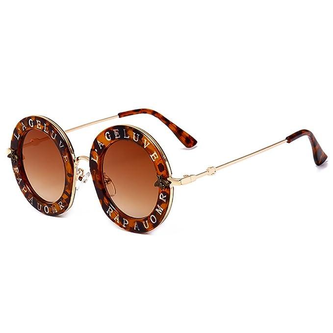 Redondo Gafas de sol para mujeres hombres Gafas de sol de ...