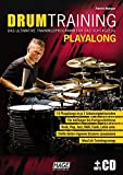 Drum Training Playalong + MP3-CD: Das ultimative Trainingsprogramm für das Schlagzeug