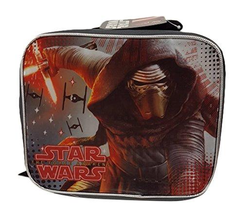 (Disney S7COR02ZA Star Wars Rectangular Lunch Bag, One Size, Gray)