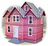 Melissa & Doug Deluxe Victorian Wooden Play Dollhouse