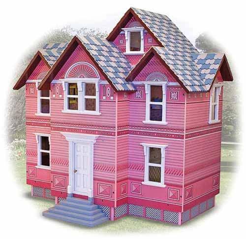 Melissa & Doug Deluxe Victorian Wooden Play Dollhouse by Melissa & Doug