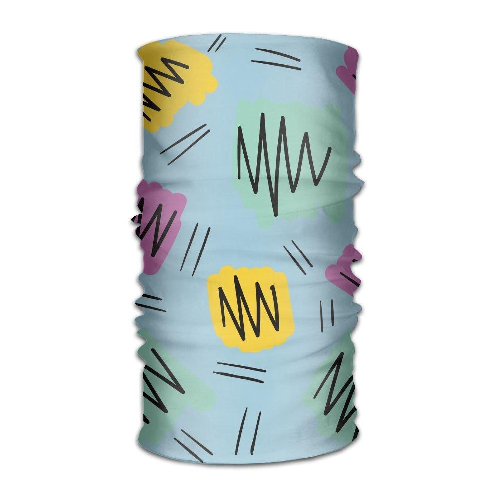 Magic Headwear Colorful Cotton Candy Outdoor Scarf Headbands Bandana Mask Neck Gaiter Head Wrap Mask Sweatband