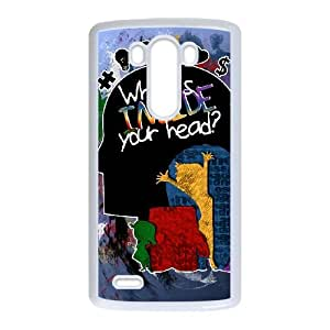 LG G3 Cell Phone Case White_WHAT'S INSIDE YOUR HEAD Syksi