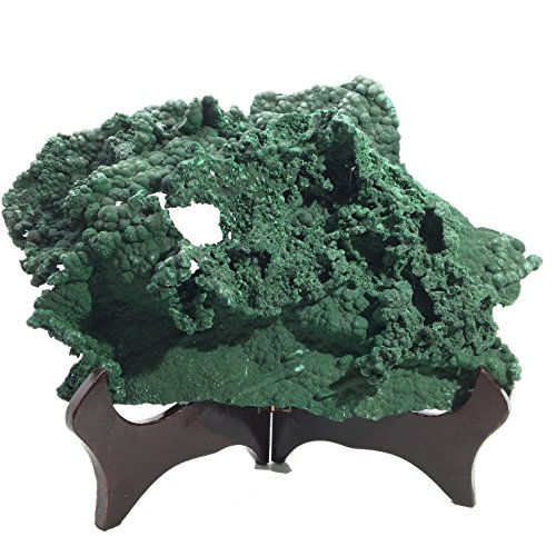 malachite-mineral-30-raw-green-natural-earth-crystal-healing-stone-display-stand-8-inches