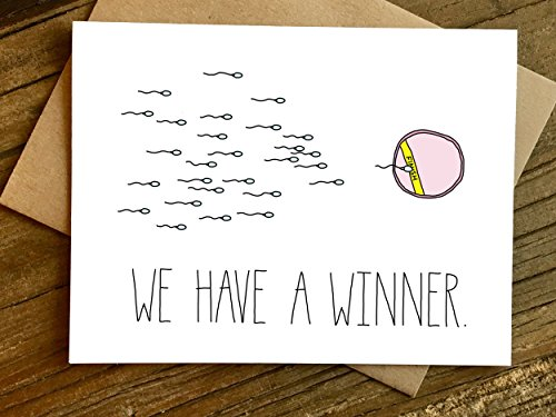 Baby Announcement Card - Winner New Baby/Pregnancy Card