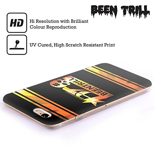 Official Been Trill Orange Colourful Prints Soft Gel Case for Apple iPhone 4 / 4S