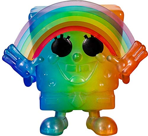 Funko- Pop Animation 2020-Spongebob Pride 2020 Spongebob(RNBW) Figura Coleccionable, Multicolor (49842)