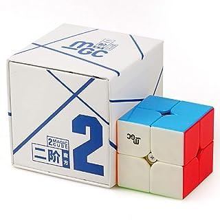 Zantec Giocattolo Educativo Cubo Magico Magnetico Cubo Professionale di Velocità 2x2 Regalo Ideale Compleanno Natale per Bambini Ragazzi Adulti