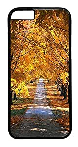 ACESR Autumn iPhone 6 Hard Case PC - Black, Back Cover Case for Apple iPhone 6(4.7 inch)