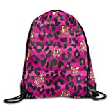 FESDCUTY Vintage Ring Beam Mouth Backpack Knapsack Backpack Novelty Customize Personality Travel Bag
