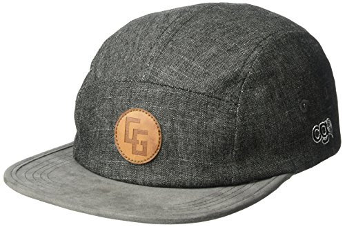 CandyGrind | CG Habitats Sesher Camper Hat, Grey, One Size ()