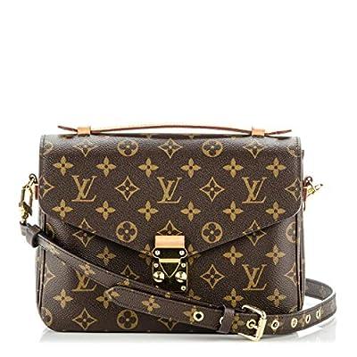 Pochette Metis Style Monogram 25 cm Canvas Crossbody Handbag Tote Shoulder Bag by LAMB