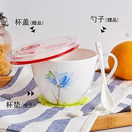 Laxba taza de café Taza del desayuno de la harina de avena Taza de café de