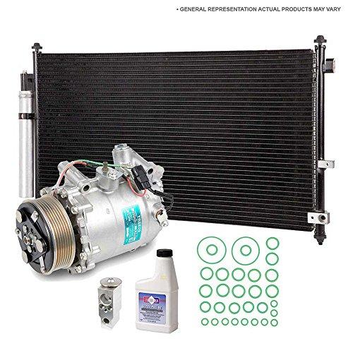 A/C Repair Kit OEM AC Compressor & Clutch For VW Touareg & Porsche Cayenne - BuyAutoParts 60-80582R5 New