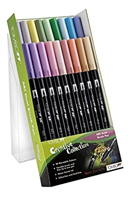 Tombow Dual Brush Pen ABT-18C-5 pastels