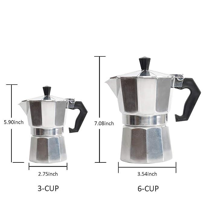 Amazon.com: Milky House Espresso Maker, Moka maceta cafetera ...