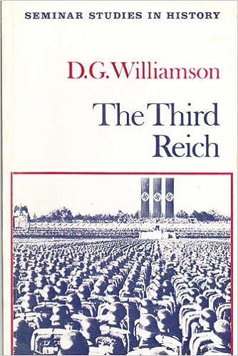 Book The Third Reich (Seminar Studies in History)
