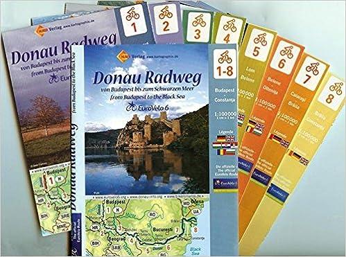 Donau Radweg Von Budapest Bis Zum Schwarzen Meer 1 100000 Amazon