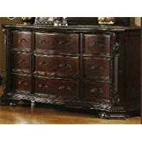 247SHOPATHOME Idf-7267D, dresser, Walnut
