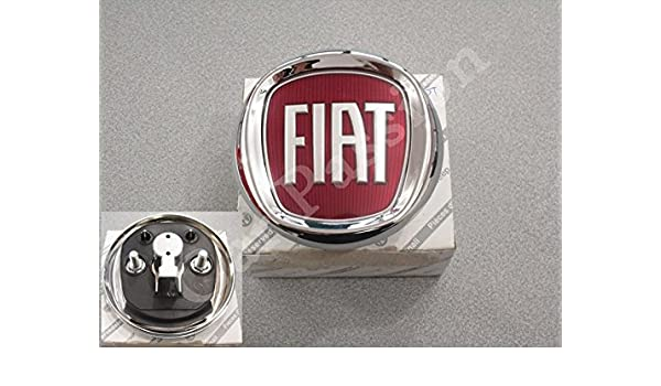 Escudo trasero con logotipo para Fiat Punto Evo, original ...