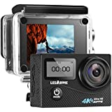 LegazoneSports Action Camera 12MP 1080P 2.0 LCD 170° Wide Angle Lens Waterproof Diving HD Camcorder Car DVR Dual Screen