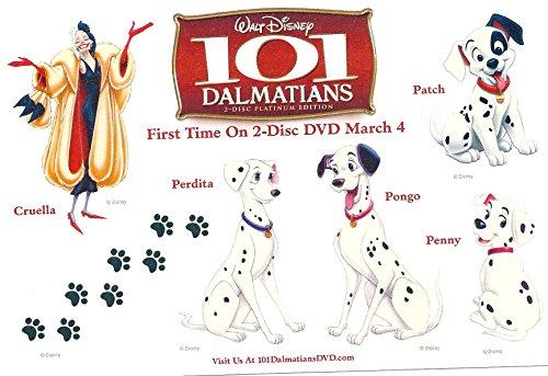 Disney Single Promo Temporary Tattoo Sheet 4