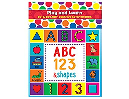 Amazon Com Do A Dot Art Play And Learn Creative Activity And