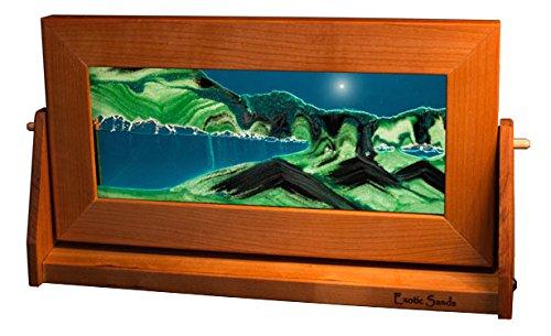 Amazon.com: Colored Sand Art - Medium Cherry Frame (Summer Turquoise ...