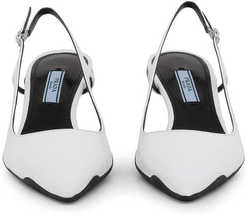 Prada Femme Talons Hauts Noir: : Chaussures et Sacs
