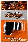 Crampbuster CB4-C Chrome Throttle Mounted Motorcycle Cruise Assist