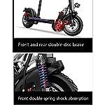 Scooter-elettrico-Monopattino-ElettricoDisplay-LCD40-50km-di-autonomiavelocit-Fino-a-45kmhPotente-Motore-da-500WUltraleggero-Pieghevole-Adulti-e-Adolescenticon-Sedile