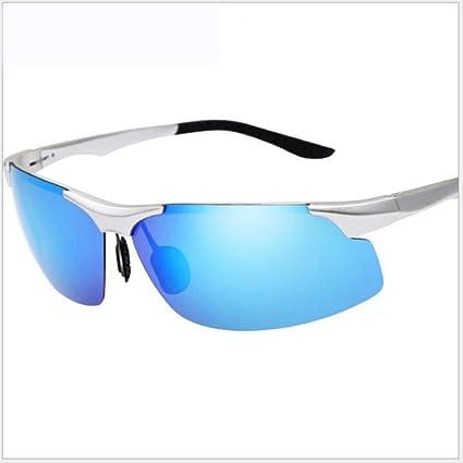Shisky Gafas Deportivas, Hombres de Las Gafas de Sol polarizados de magnesio Aluminio del Montar