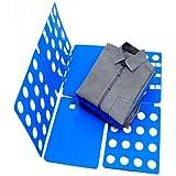 AVMART Adjustable Clothes Folder T Shirt Flip Fold Folding Board Fast Laundry Folder Clothing Flipfold (Multi Color)