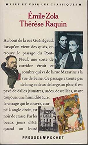 Therese Raquin Fiction Poetry Drama French Edition