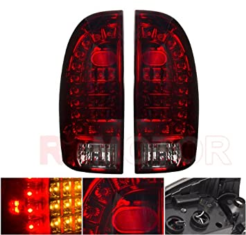 Amazoncom Toyota Tacoma LED Tail Light Assembly Replacement Pair