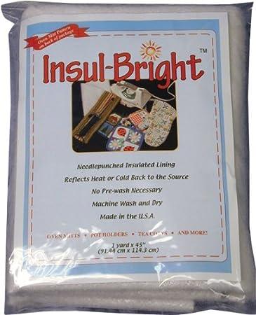 Amazon.com: Forro aislante Insul-Bright - 36.0 x 45.0 in ...