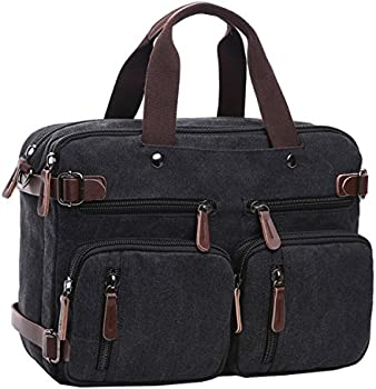 Berchirly Canvas Backpack Messenger Laptop Bag