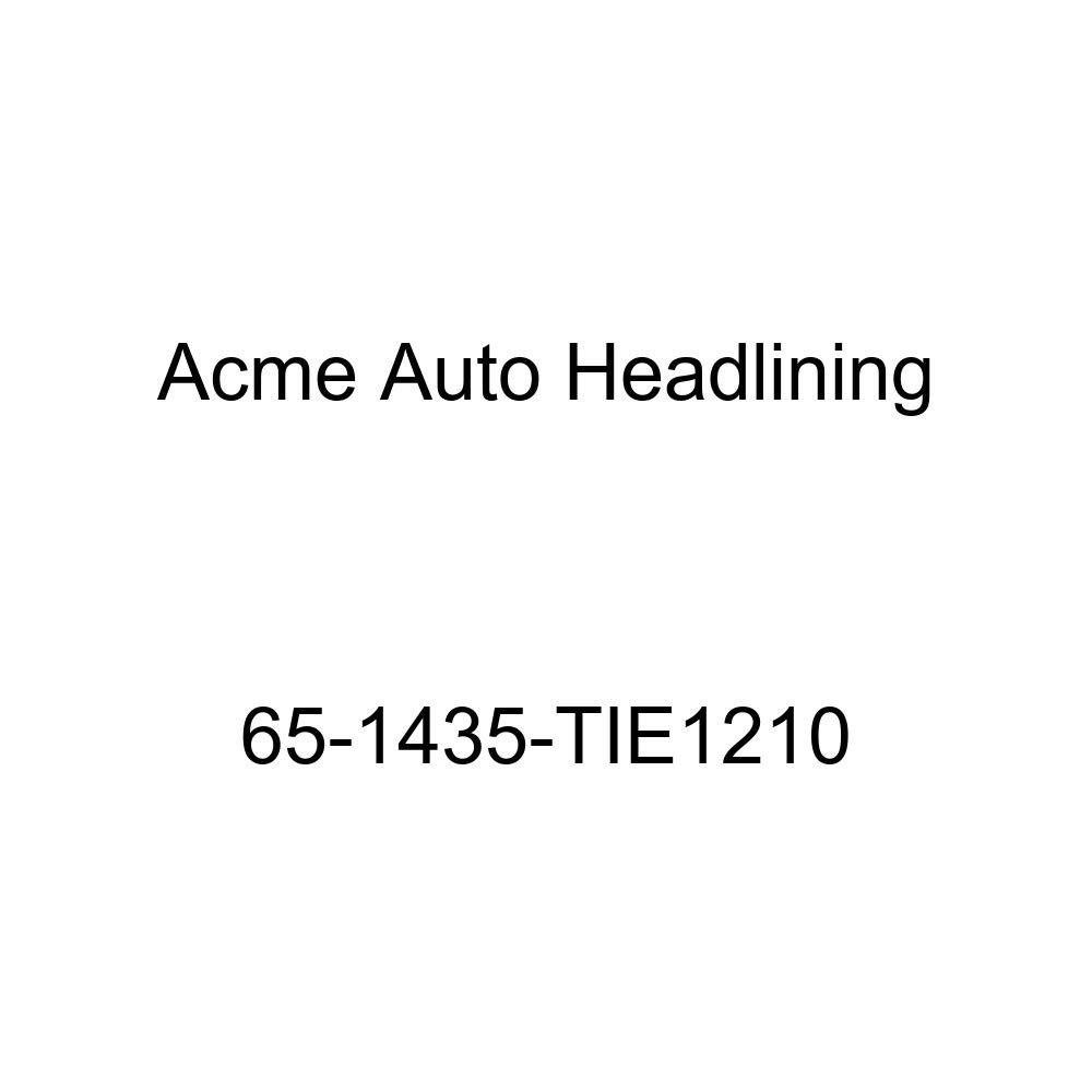 Acme Auto Headlining 65-1435-TIE1210 Maroon Replacement Headliner Chevrolet Chevy II 2 /& 4 Door Sedan 6 Bow