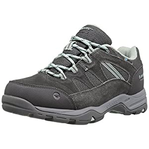 Hi-Tec Women's Bandera II Low Waterproof Hiking Shoe, Charcoal/Cool Grey/Lichen, 9 D US