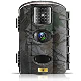 ARTITAN Trail Game Camera 12MP Wildlife Hunting Camera Motion Activated Deer Cam No Glow IR Light 65ft Detection Range with Time Lapse Function IP65 Waterproof